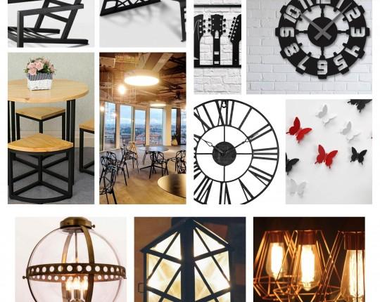 Metal, nueva tendencia en decoración: combina con todo.